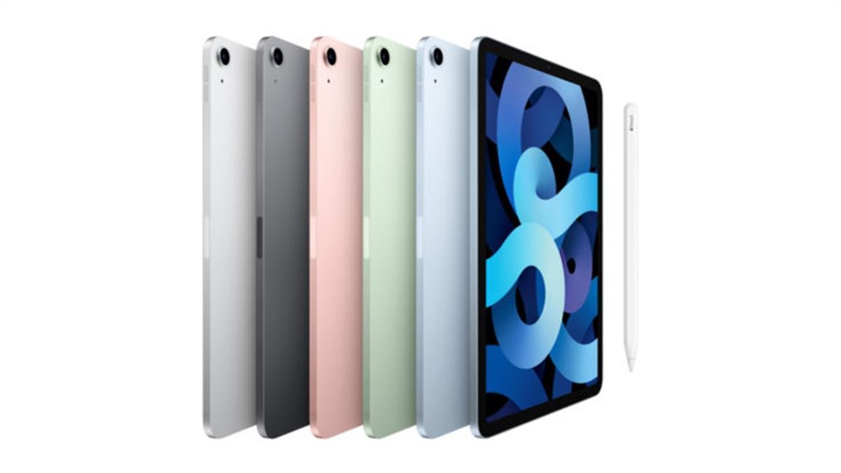 新iPad Air首搭台積電A14仿生晶片 推5款夢幻新色1萬8900元起