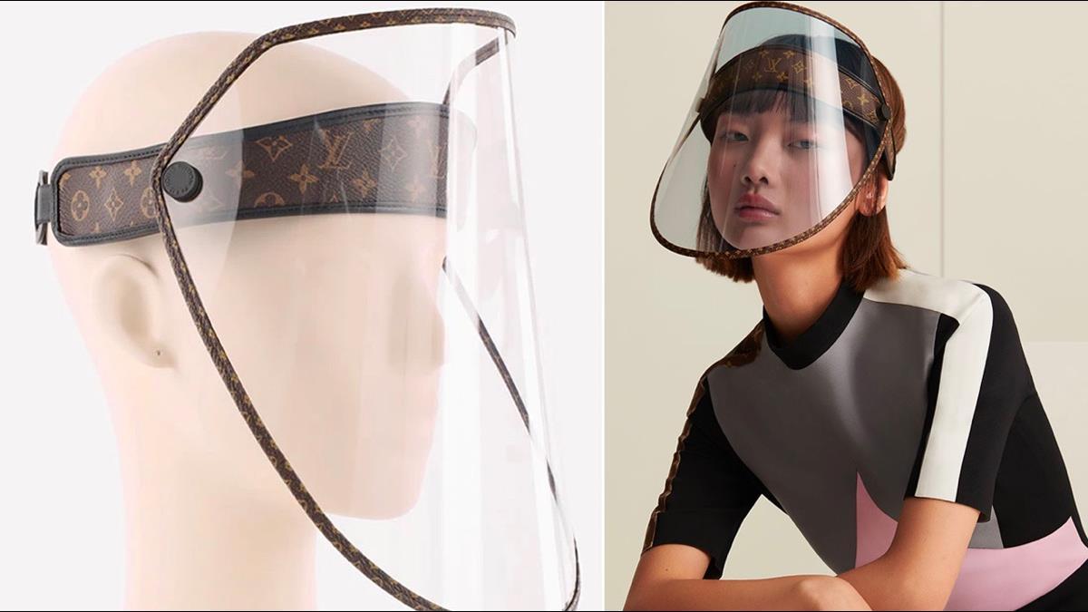 最貴防疫面罩?LV 10月底開賣 激似陸大媽防曬面罩