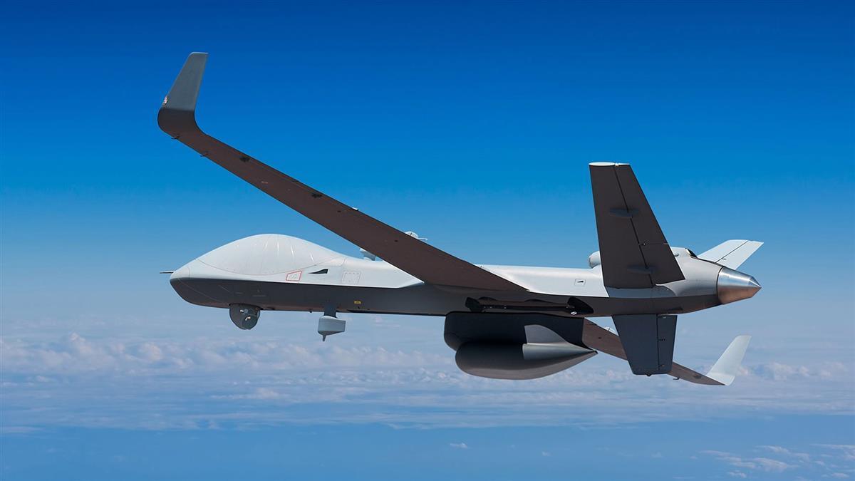 川普第10度軍售 美國將售台4架MQ-9B無人機