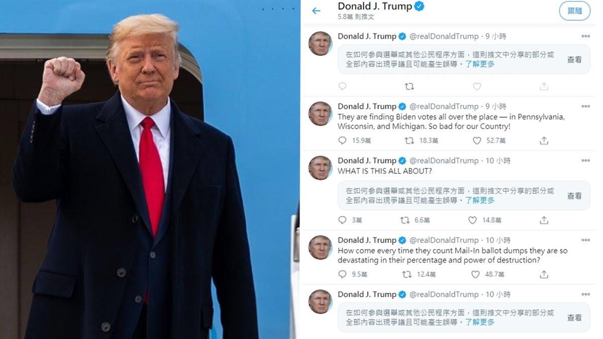 推特不推臉書不讚! 川普發文頻誤導 選舉戰火延燒社群媒體
