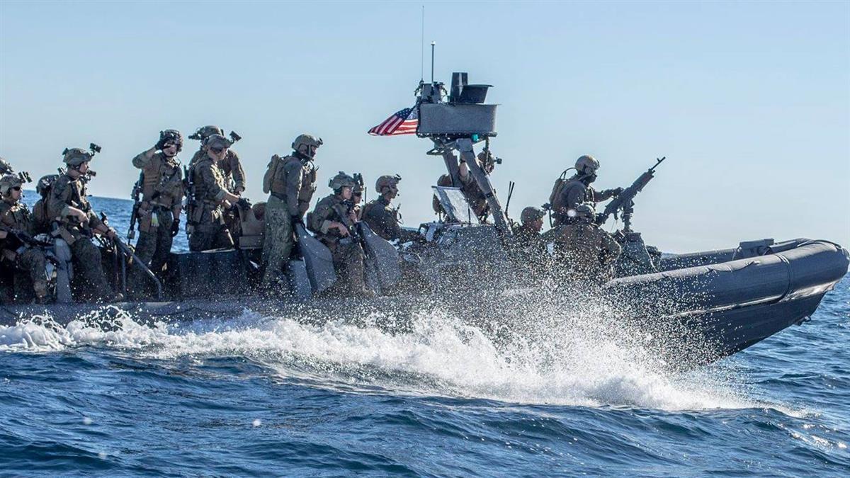 美國海軍陸戰隊抵台!連續4周教授我軍突擊舟、快艇滲透作戰