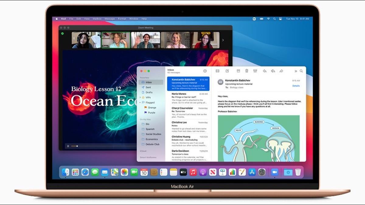 蘋果發表3款新Mac筆電 揮別英特爾搭載自家M1晶片