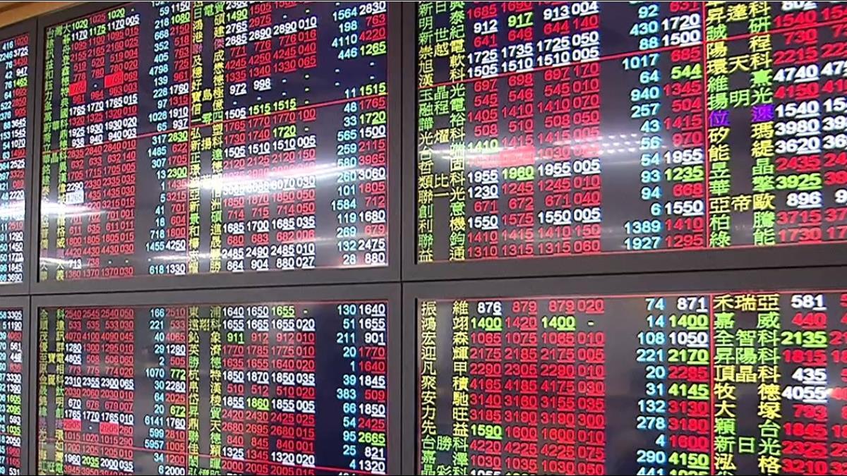非電上攻台股漲逾百點 衝上13200點再創新高