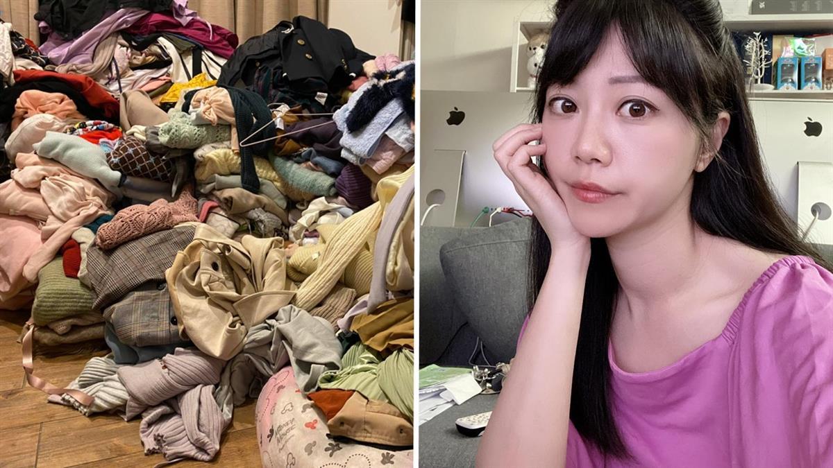 高嘉瑜捲房產爭議「得罪太多人」!曬衣服山如回收場 汙漬嚇壞網