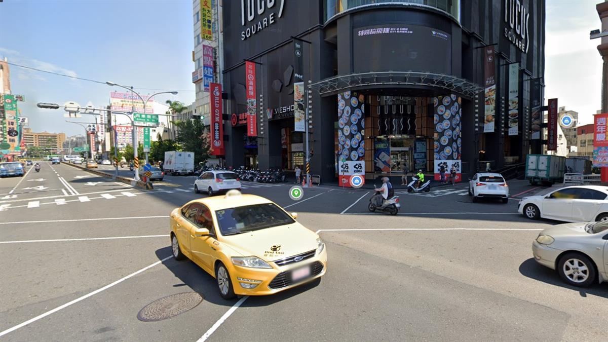 車輛違規「LED看板昭告天下」 首座智慧安全路口台南啓用