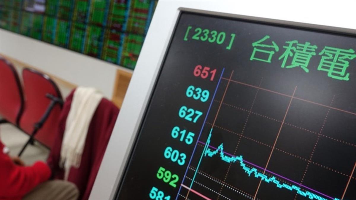 台積電16天股價飆漲97元 市值增2.51兆元