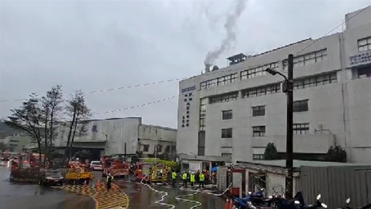 半導體大廠敦南科技基隆廠傳火警 人員急疏散