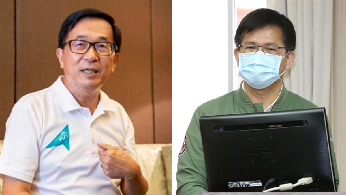 讚林佳龍請辭「做最好示範」 陳水扁:他應獲全民支持